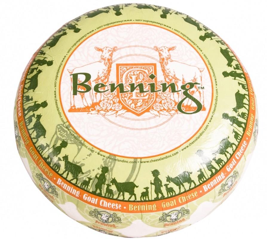 Сыр козий Benning Cheeseland фото