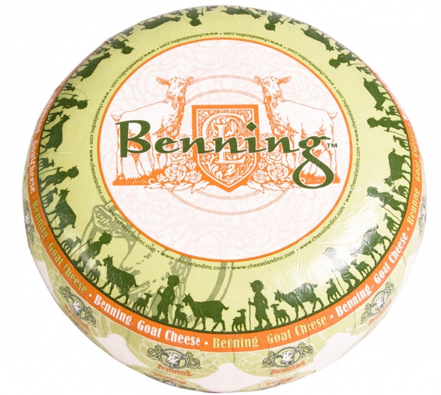 Сир козячий Benning Cheeseland фото