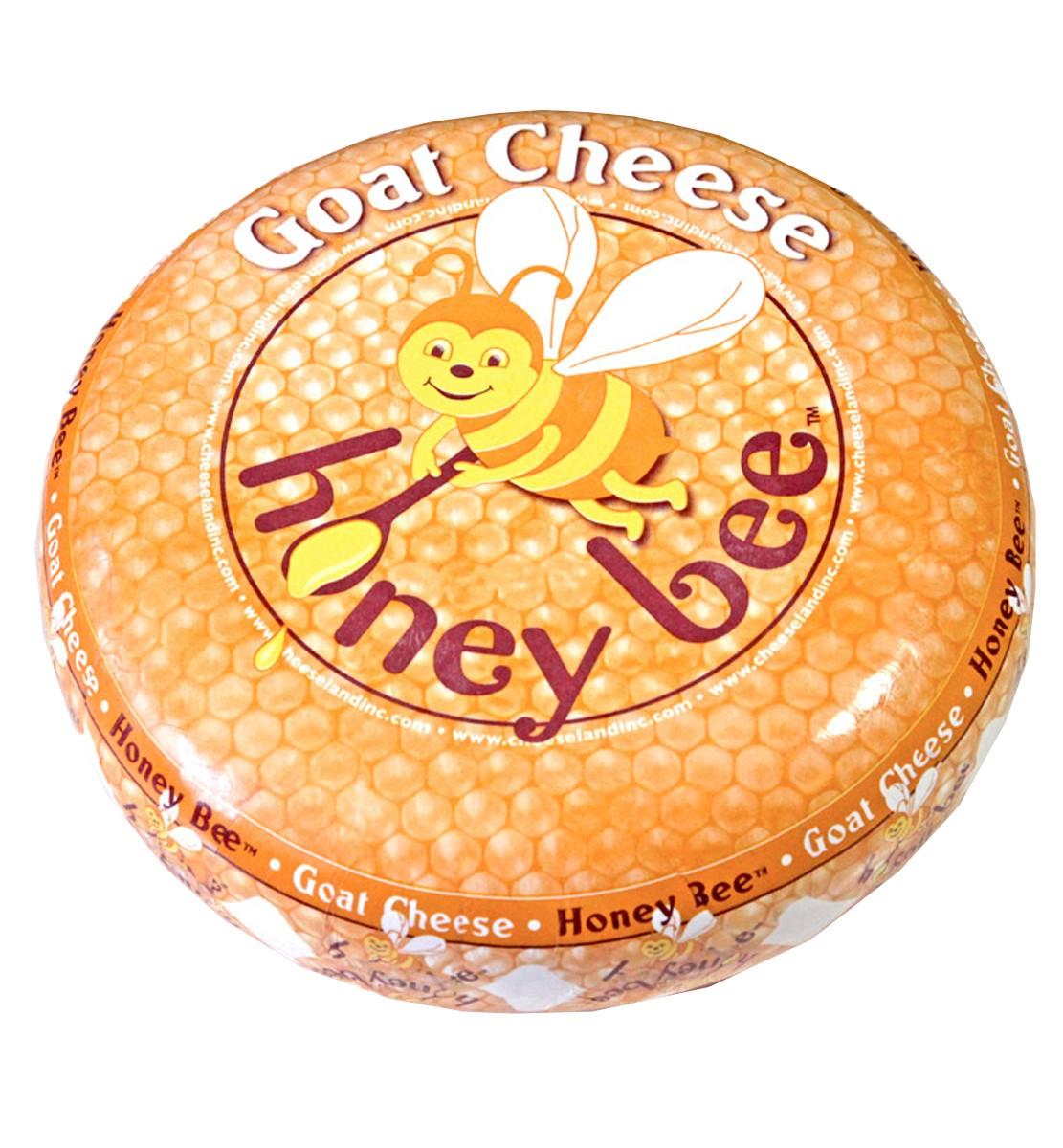 Сир козячий з бджолиним медом Cheeseland фото