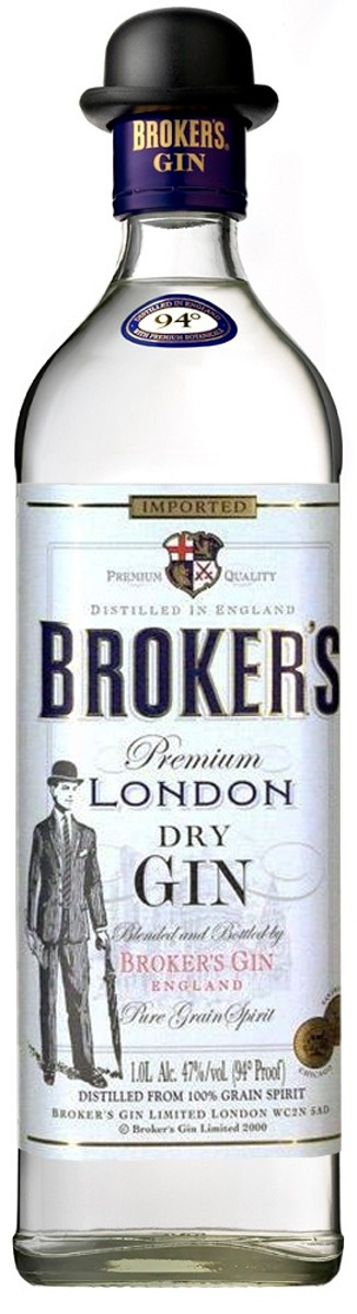 Broker's Premium London Dry Gin фото