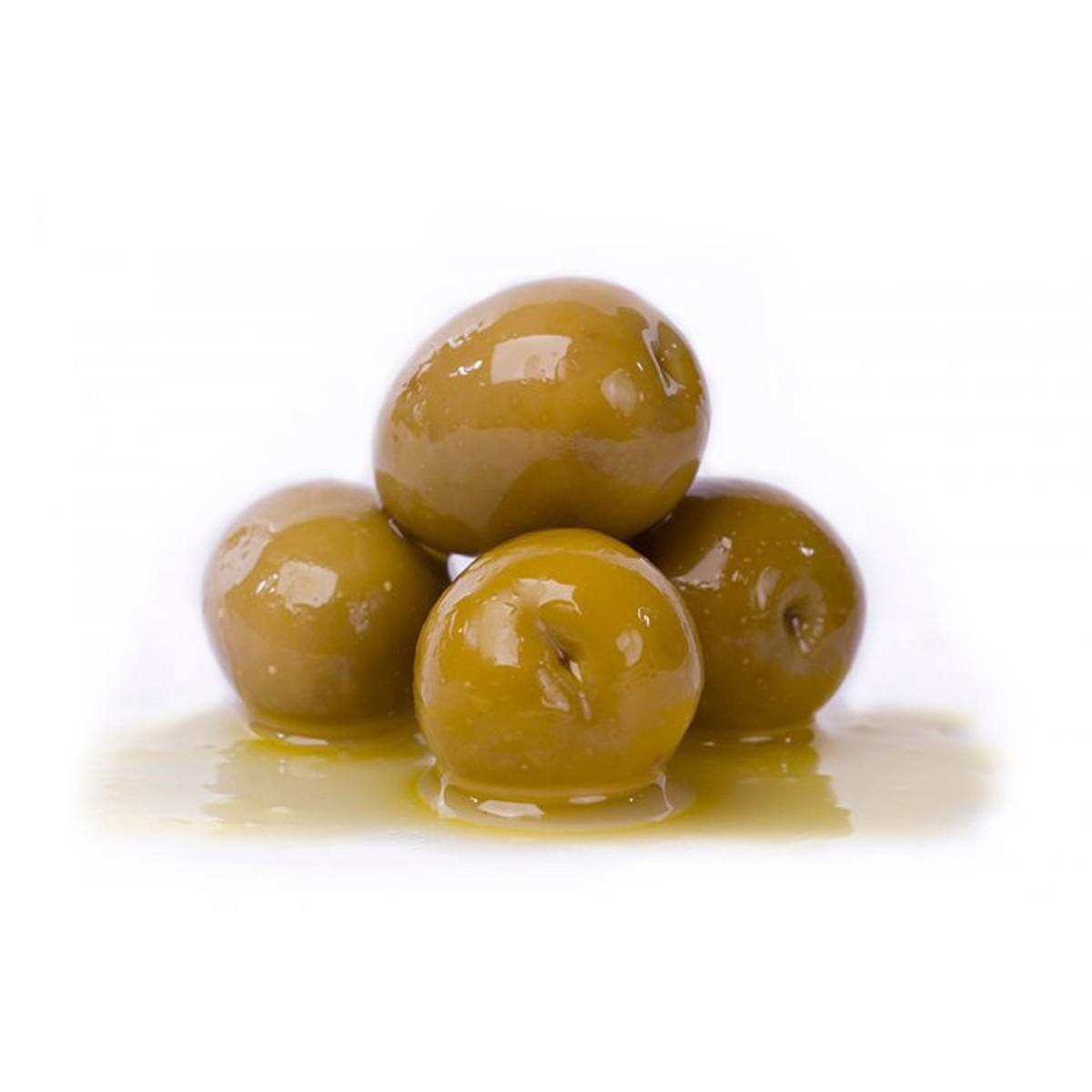 Оливки сорта Gordal в натуральном рассоле Losada фото