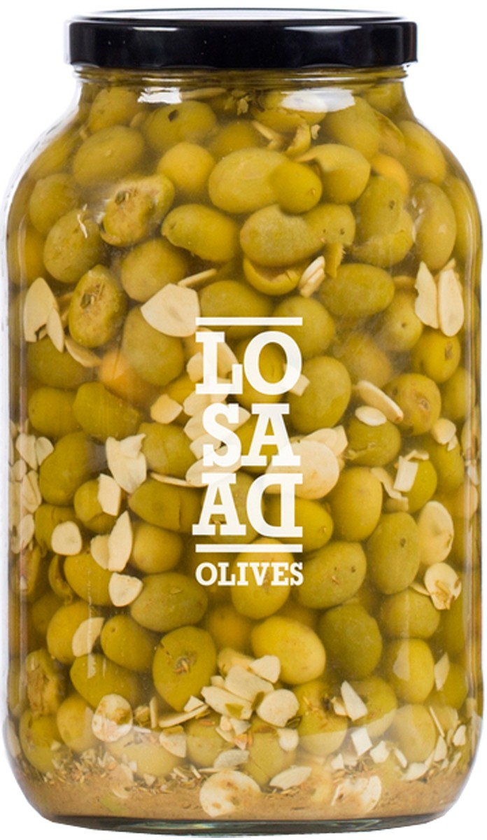 Оливки сорту Gordal мариновані Losada фото