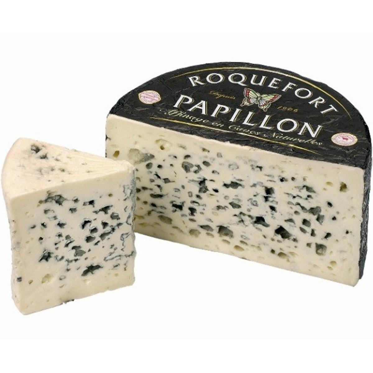 Сыр с голубой плесенню Roquefort AOC Black Label Papillon фото