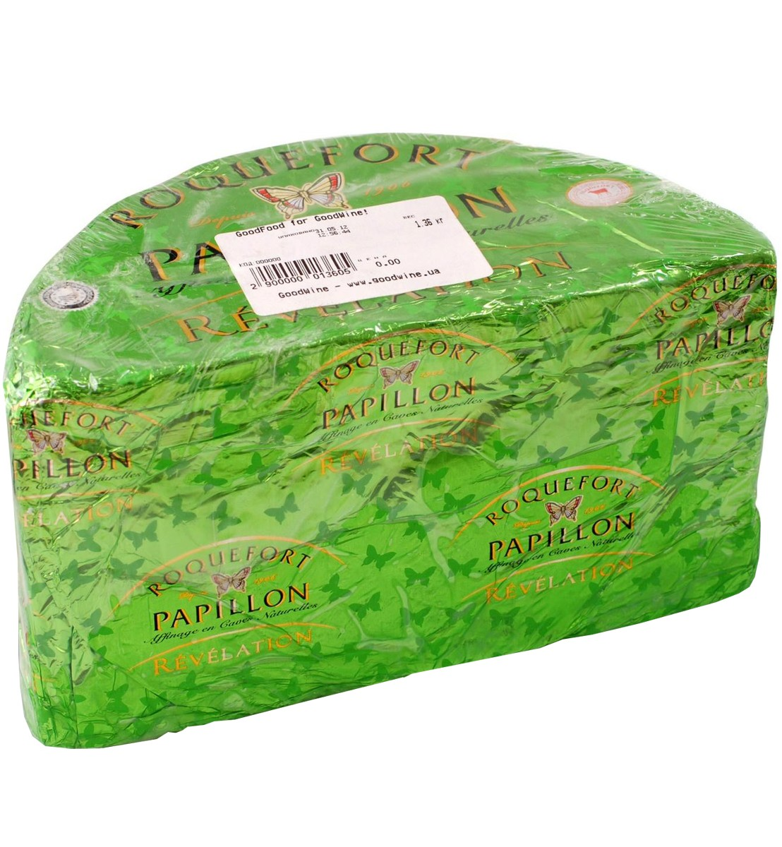 Сыр Roquefort Green Label Papillon фото