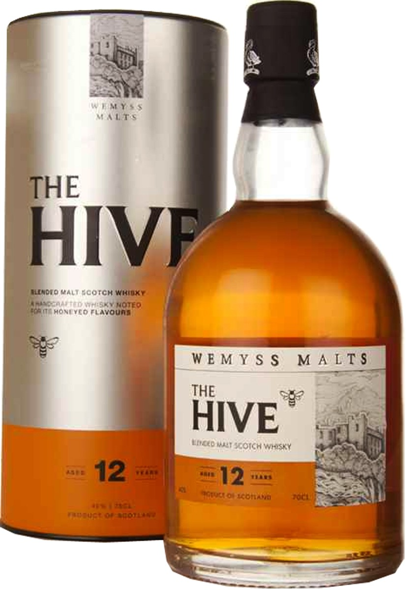 Wemyss Malts The Hive 12Y.O. (в тубусе) фото