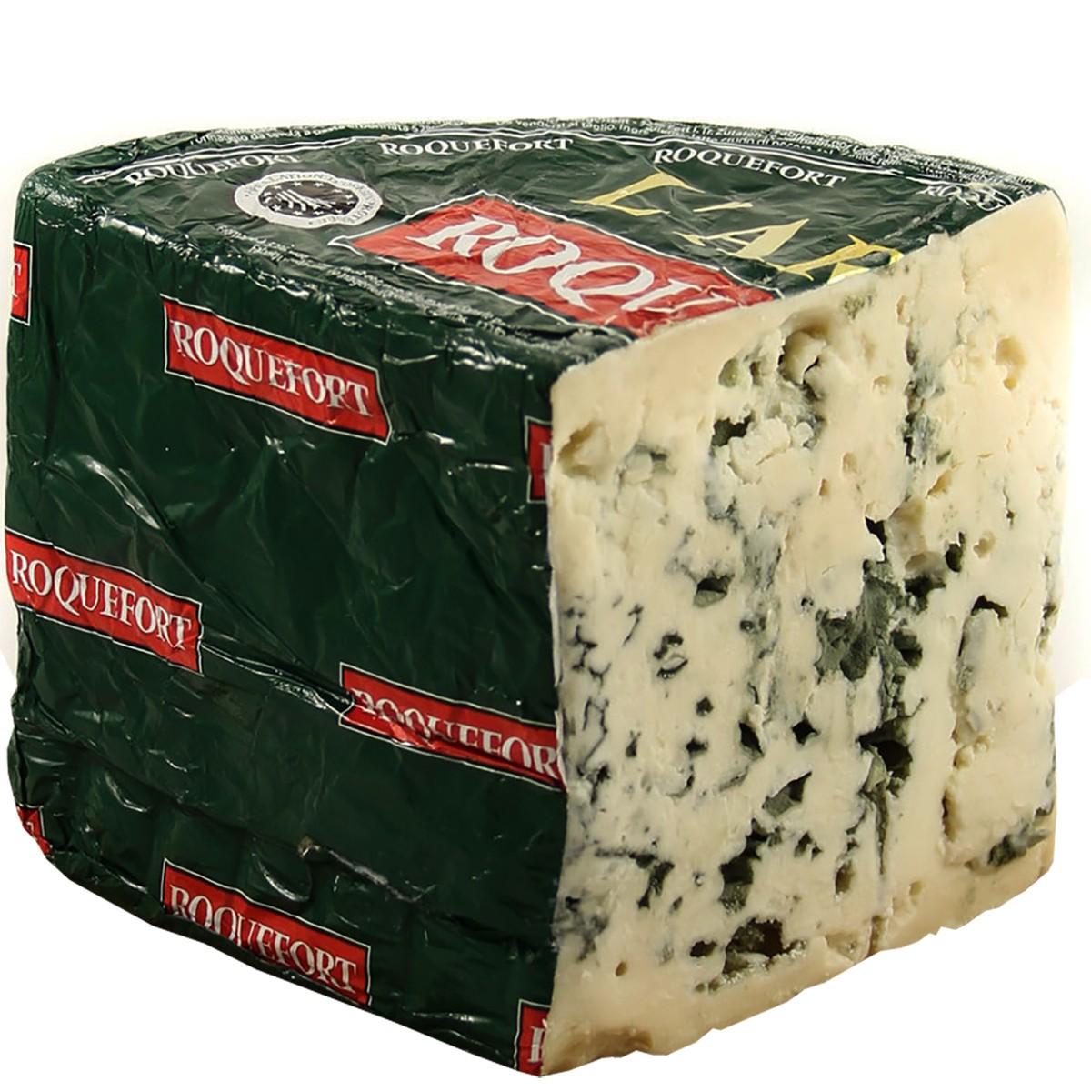 Сыр с голубой плесенью Roquefort Arbas Les Fromageries Occitanes фото