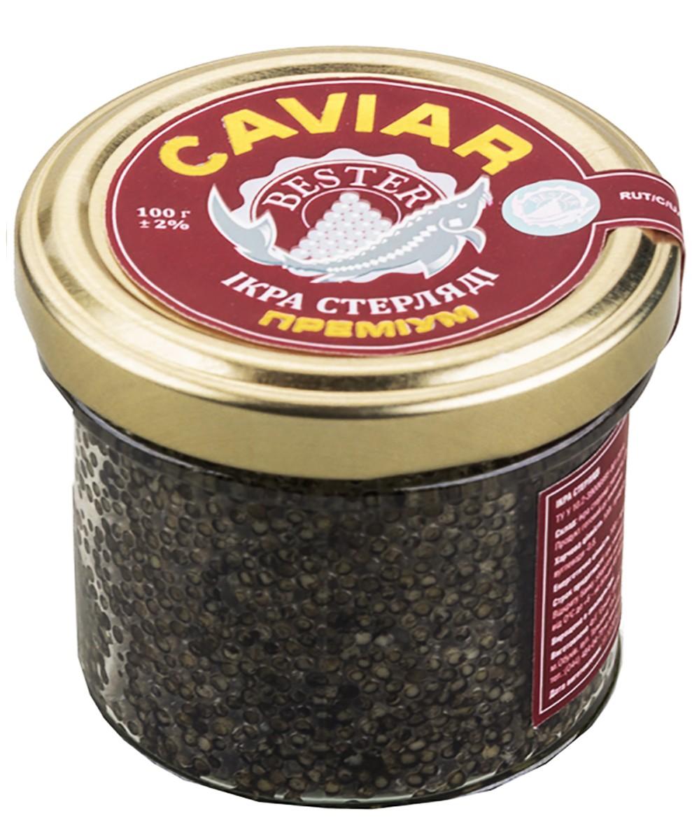 Ікра cтерляді Преміум Bester Caviar фото
