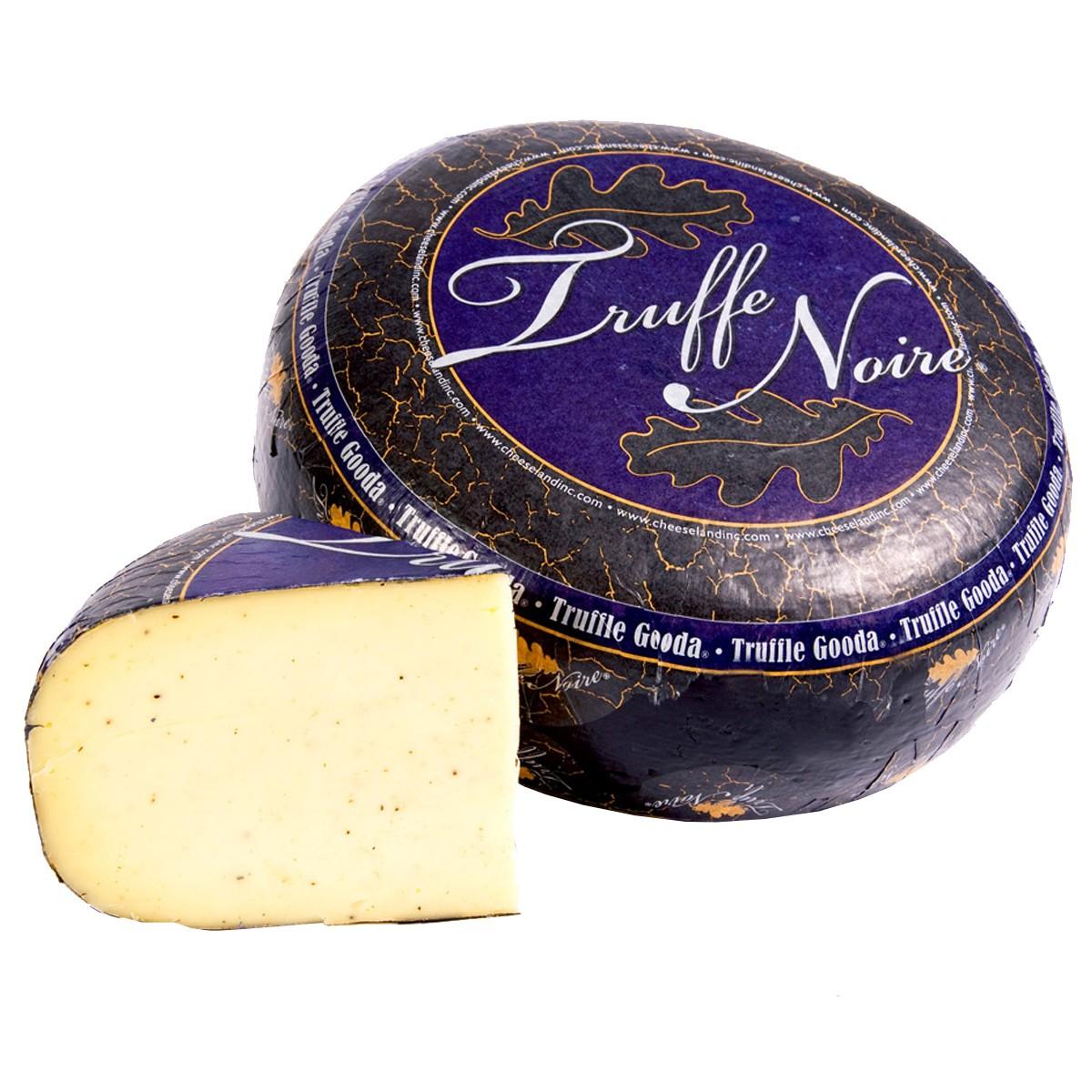Сыр Truffe Noire Gooda с черным трюфелем Cheeseland фото