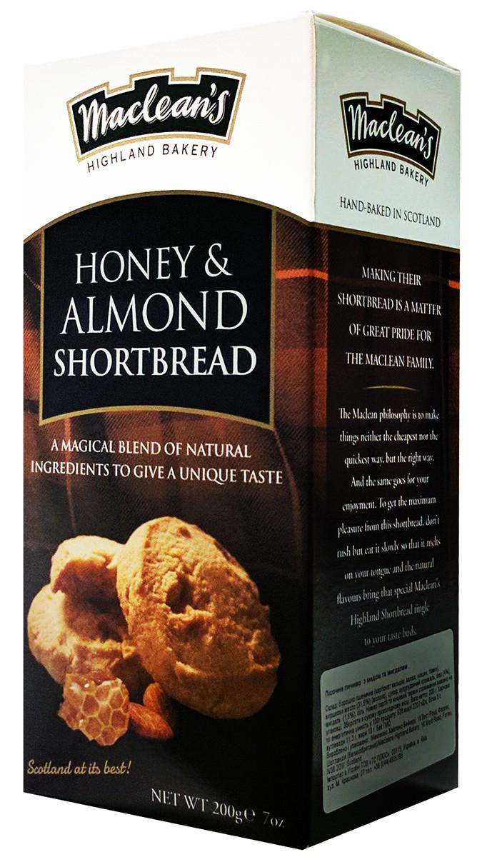Печиво пісочне з медом та мигдалем Macleans Luxury Shortbread фото