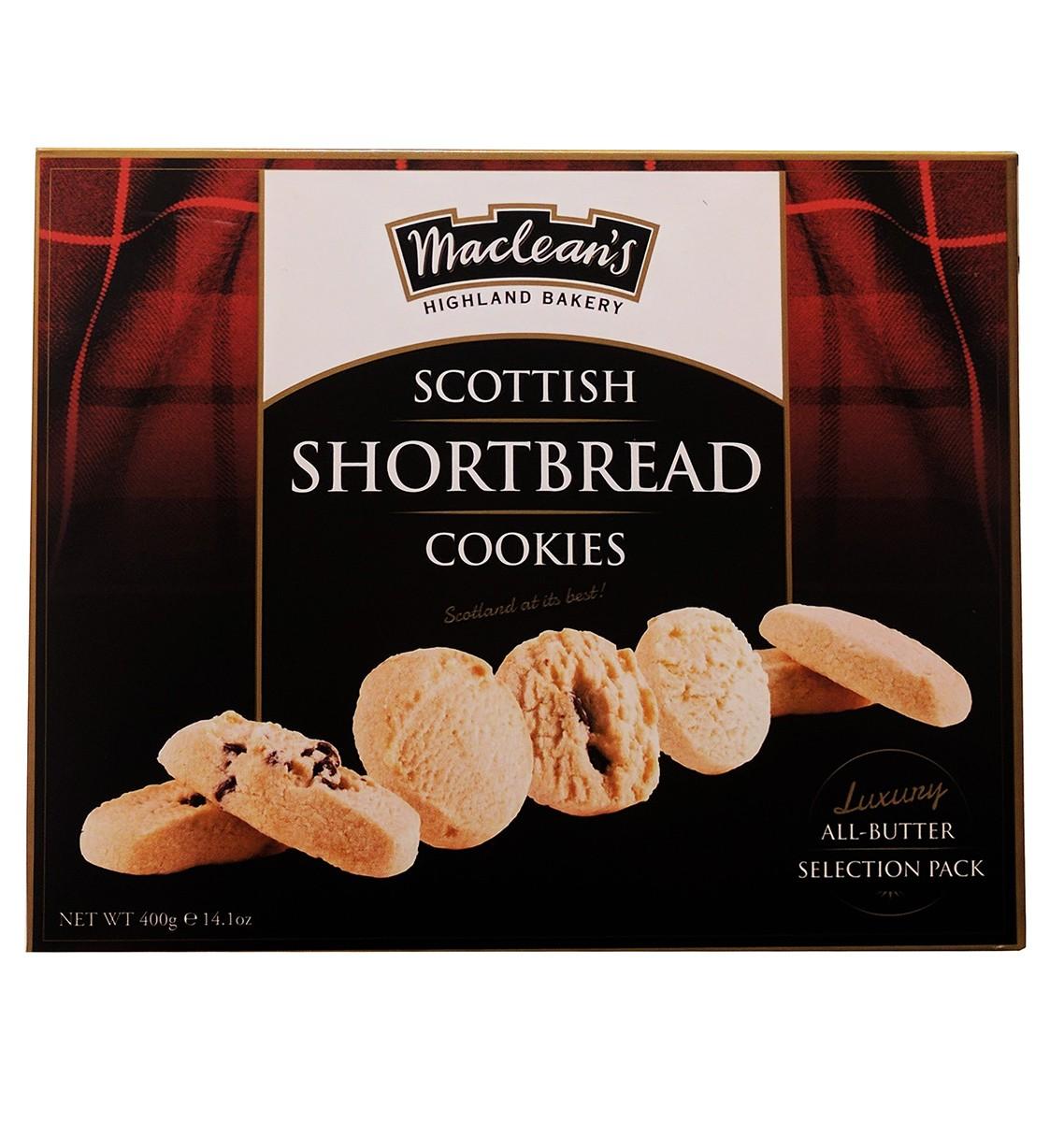 Печиво пісочне асорті зі шматочками шоколаду та медом Macleans Luxury Shortbread фото
