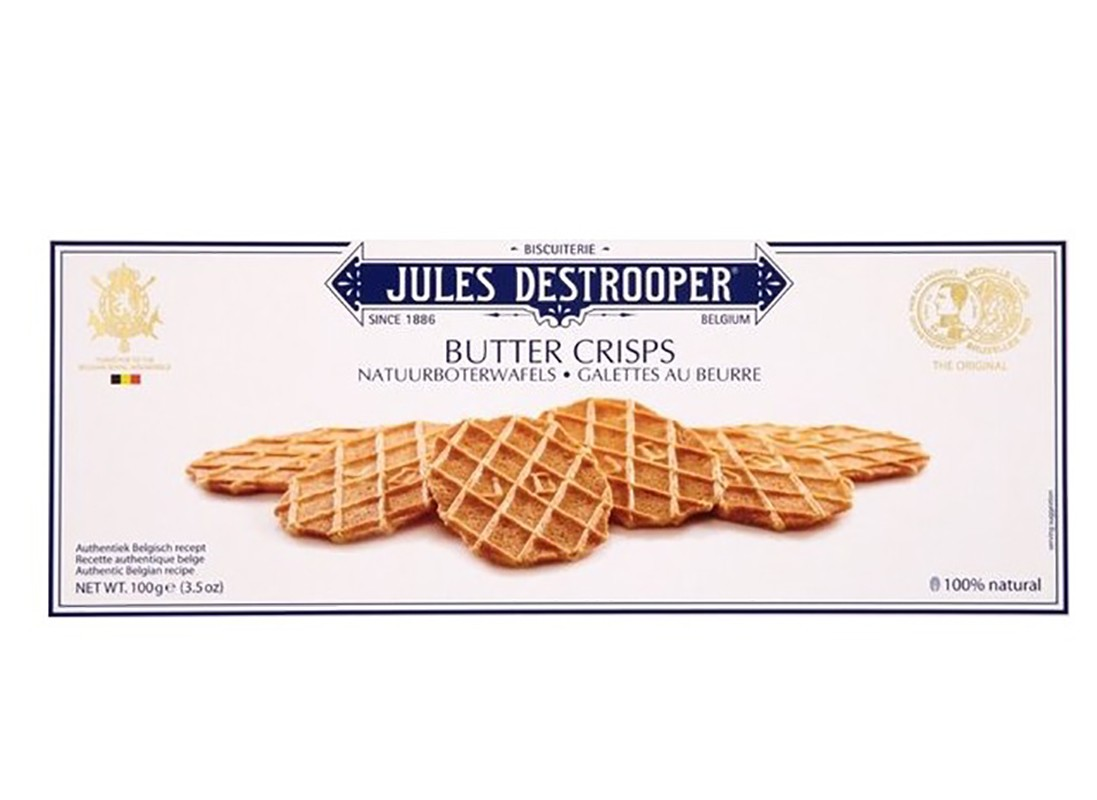 Вафлі Jules Destrooper вершкові фото