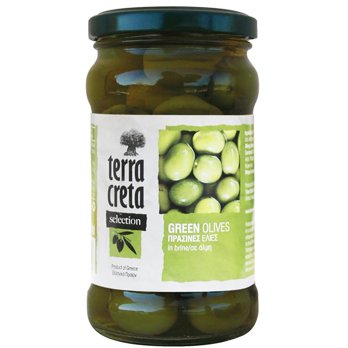 Оливки зеленые Terra Creta фото