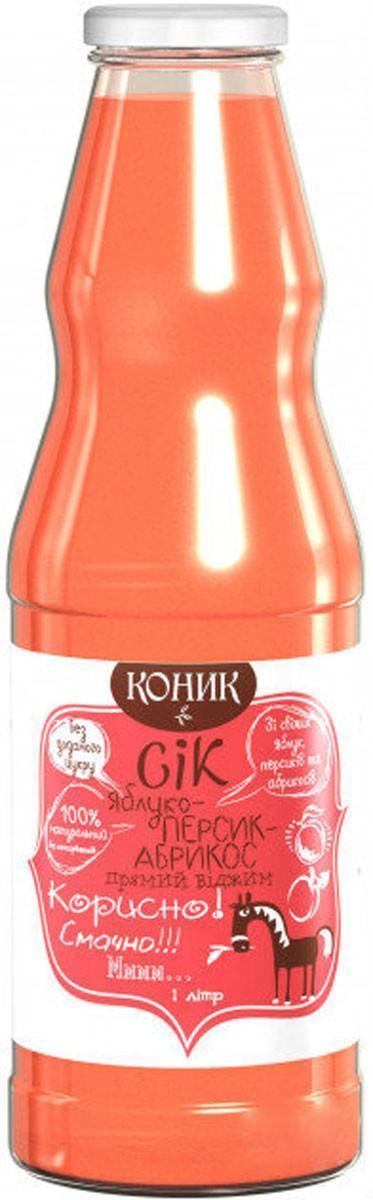 яблочно-персиково-абрикосовый Коник фото