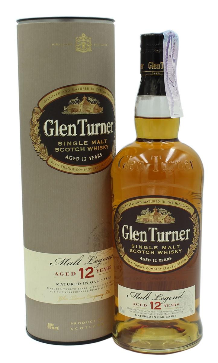 Glen Turner 12Y.O. (в тубусі) фото