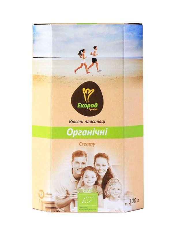 Хлопья Spesial Creamy овсяные органические Экород фото