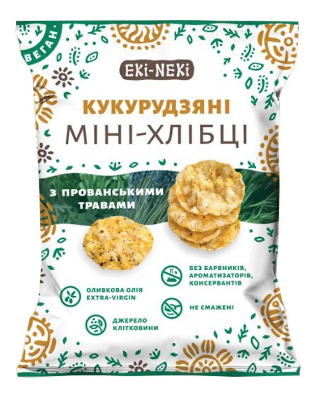 Мини-хлебцы ЕКИ-НЕКИ кукурузные с прованскими травами фото