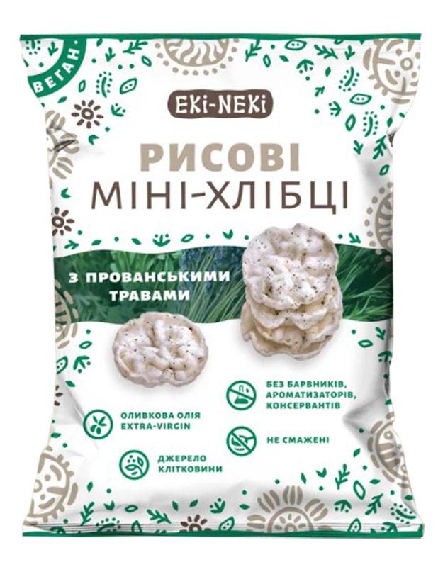 Мини-хлебцы ЕКИ-НЕКИ рисовые с прованскими травами фото
