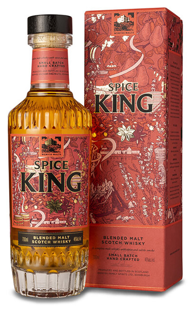 Wemyss Malts Spice King (в коробке) фото