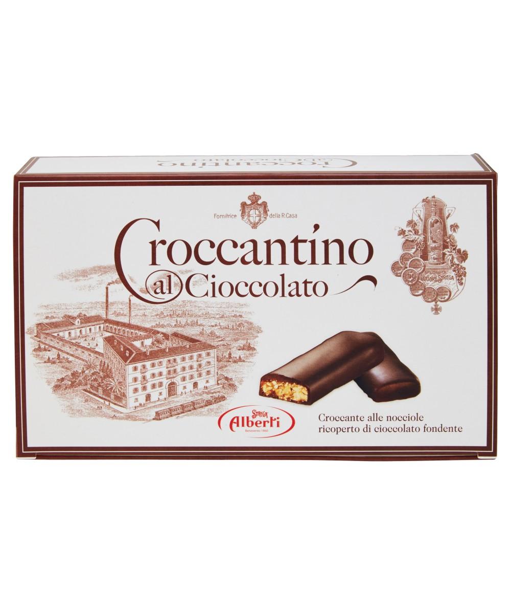 Конфеты грильяжные в шоколаде Strega Alberti Croccantino фото
