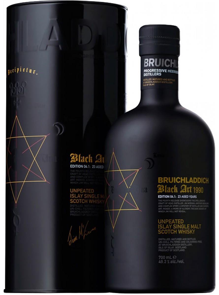 Bruichladdich Black Art 4 23 Y.O. (в тубусе) фото