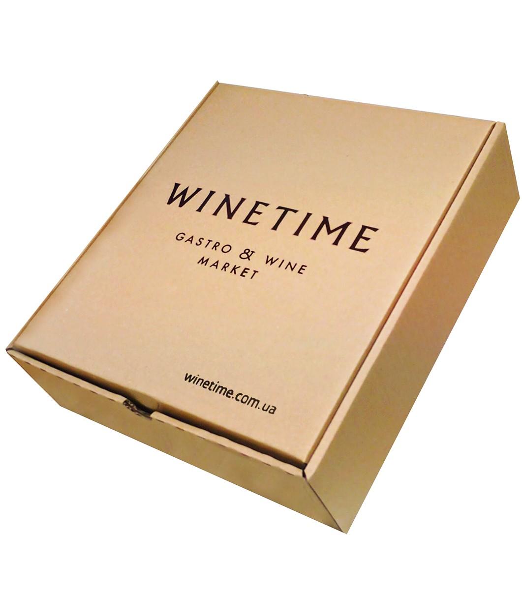 Короб картонный подарочный WINETIME фото