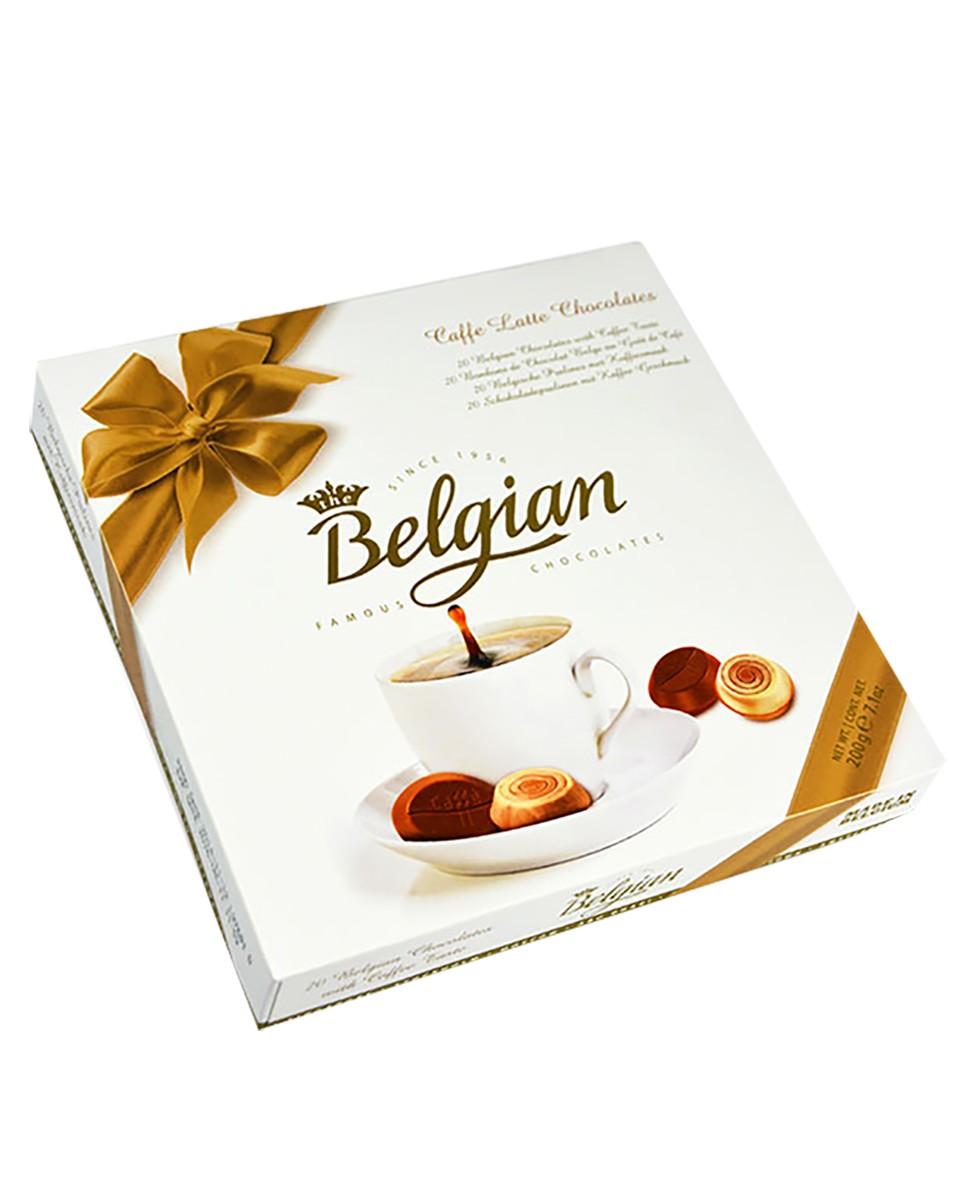 Цукерки шоколадні Caffe Latte Belgian фото