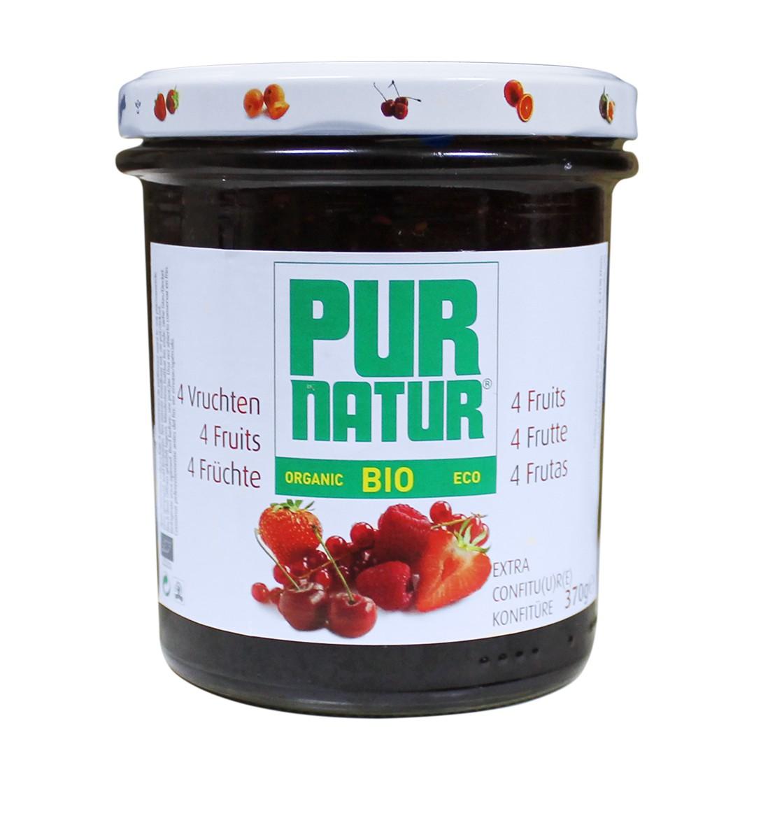 Джем фруктовый (4 фрукты) Pur Natur фото