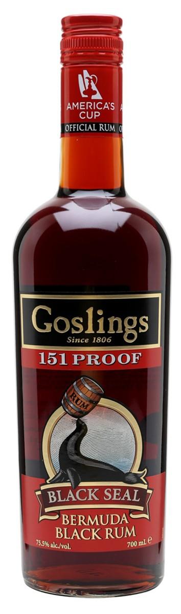 Gosling`s Black Seal 151 Bermuda Rum фото