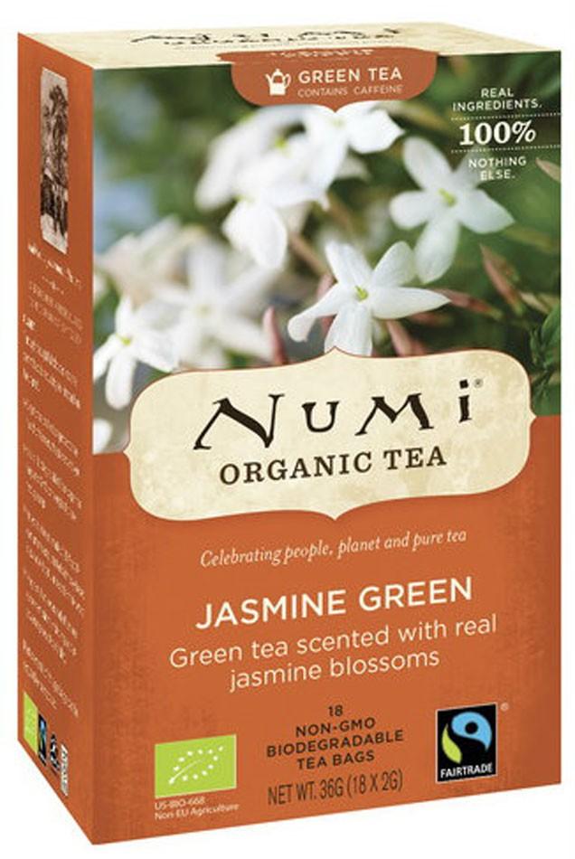 Чай зеленый с Жасмином Numi Organic Tea фото
