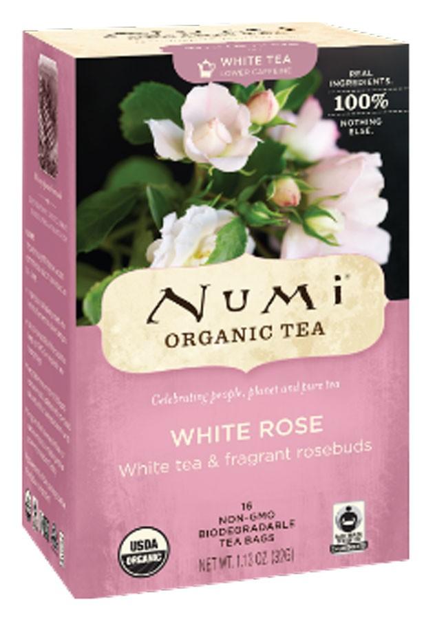 Чай білий Біла Троянда Numi Organic Tea фото