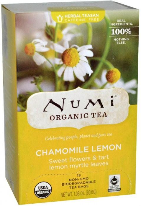 Чай Ромашка с лимоном Numi Organic Tea фото