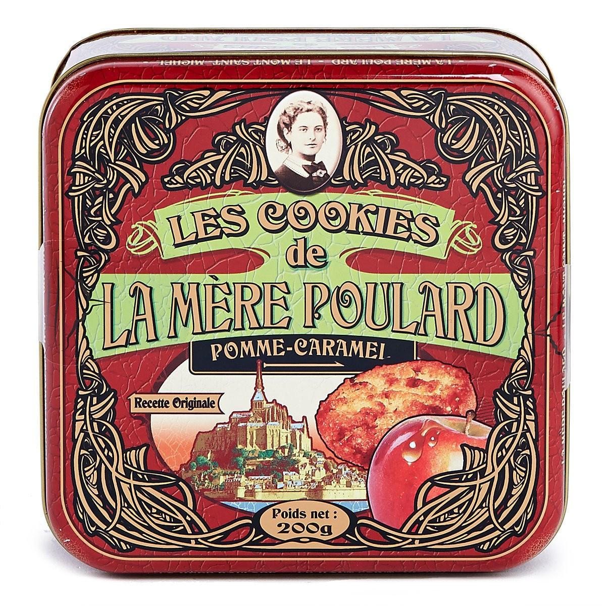 Печиво вершкове з яблучною карамеллю La Mere Poulard фото