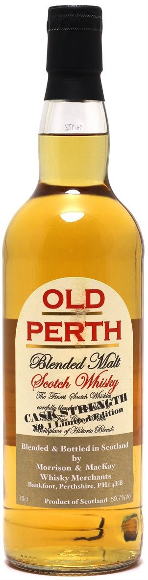 Old Perth Blended Malt Limited Edition Cask Strength фото