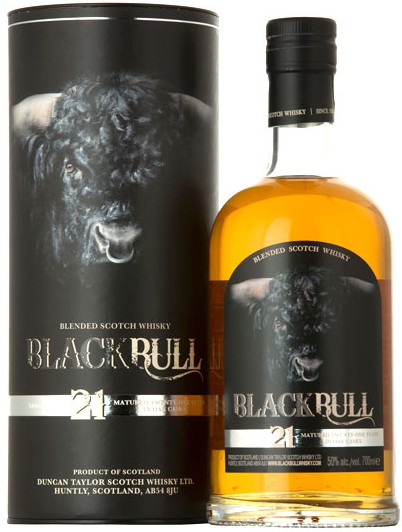 Duncan Taylor Black Bull 21 Y.O. (в тубусе) фото