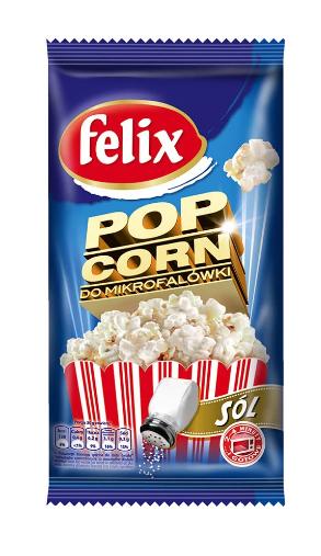 Попкорн Felix соленый для МХП фото