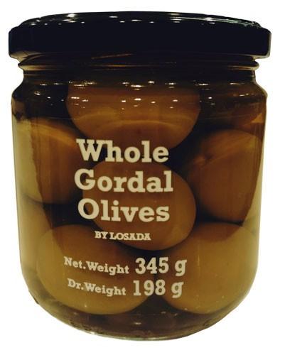 Оливки цельные сорта Gordal фото