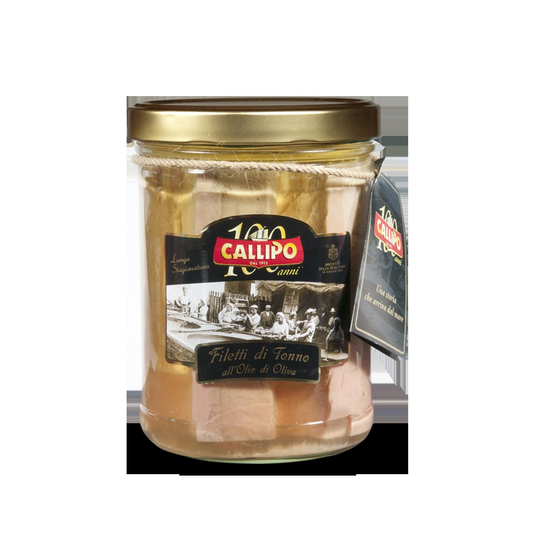 Филе тунца в оливковом масле Centenary Callipo фото