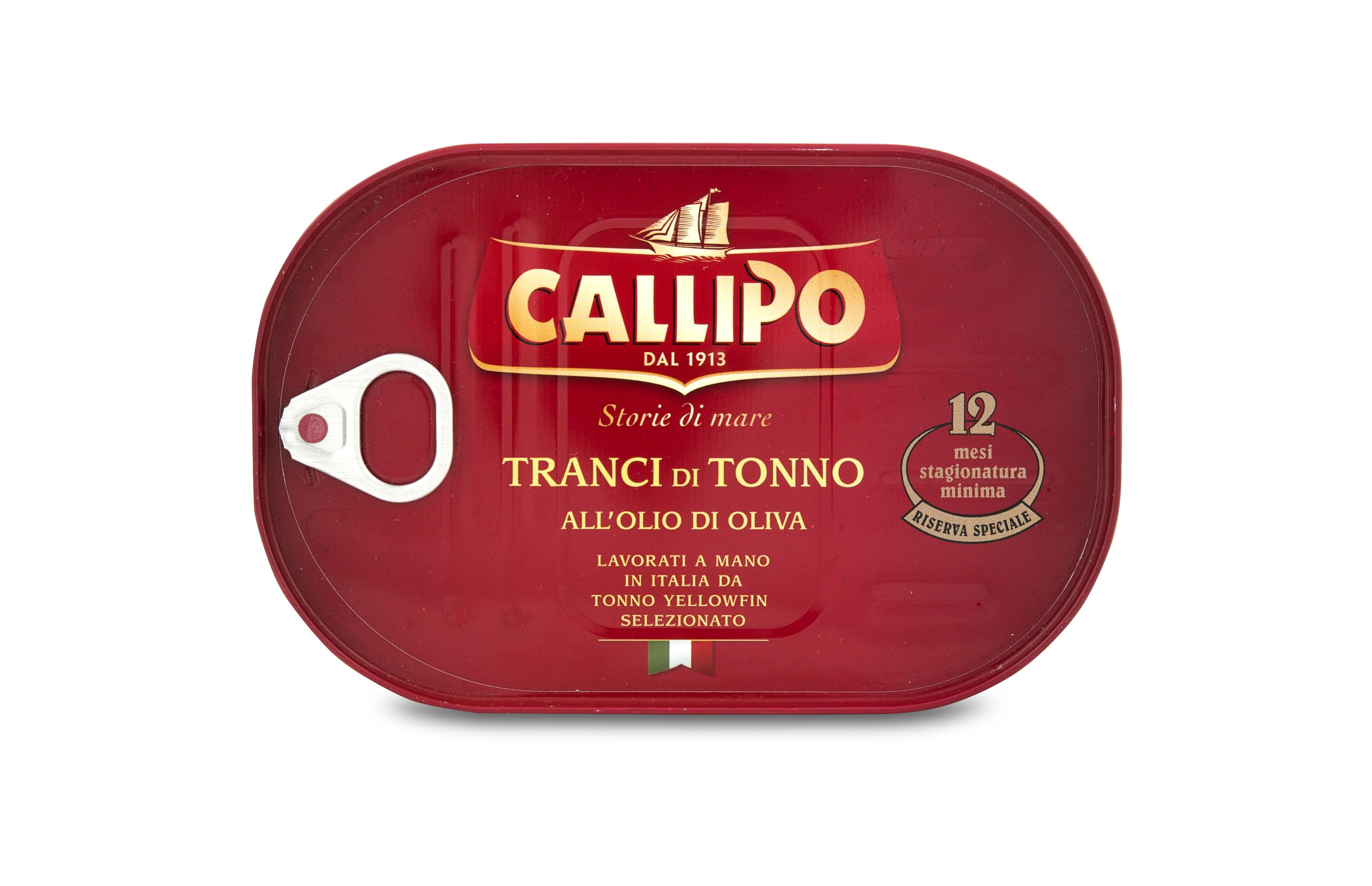 Тунец в оливковом масле Callipo фото