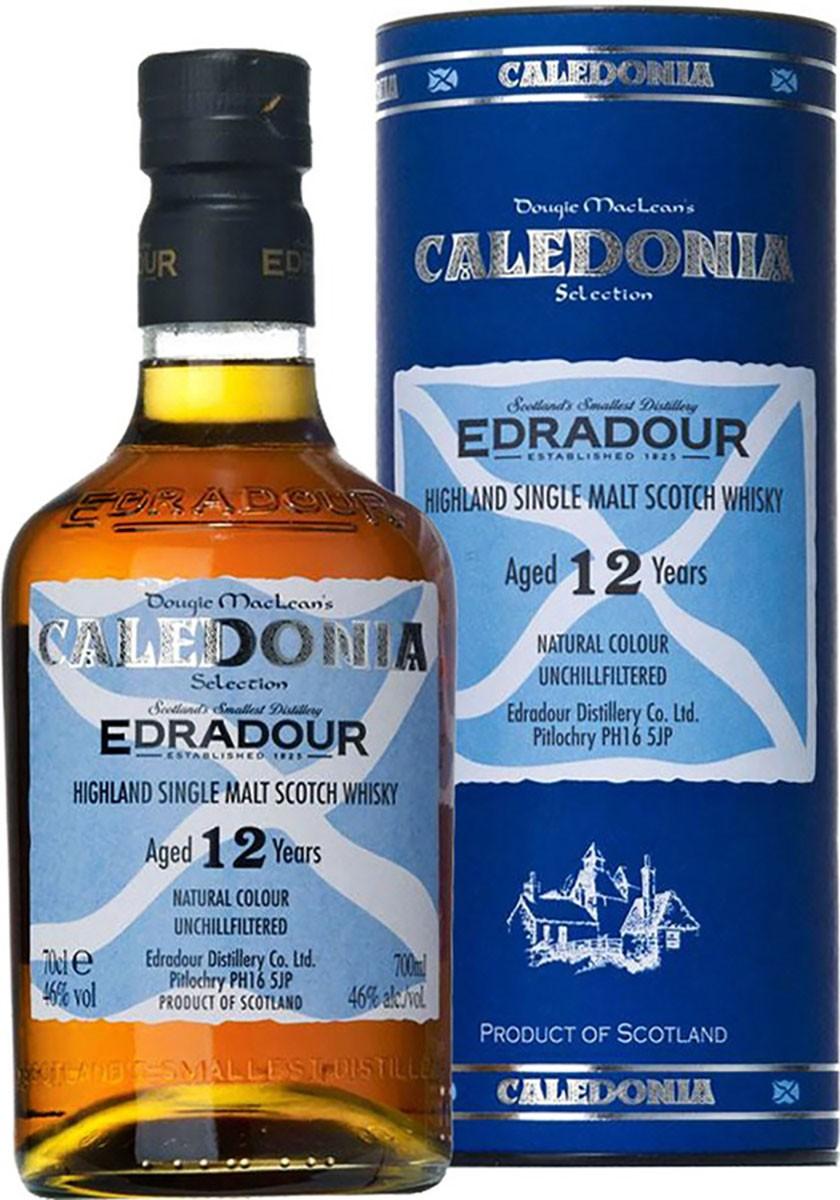 Edradour Caledonia 12 Y.O. (в тубусе) фото