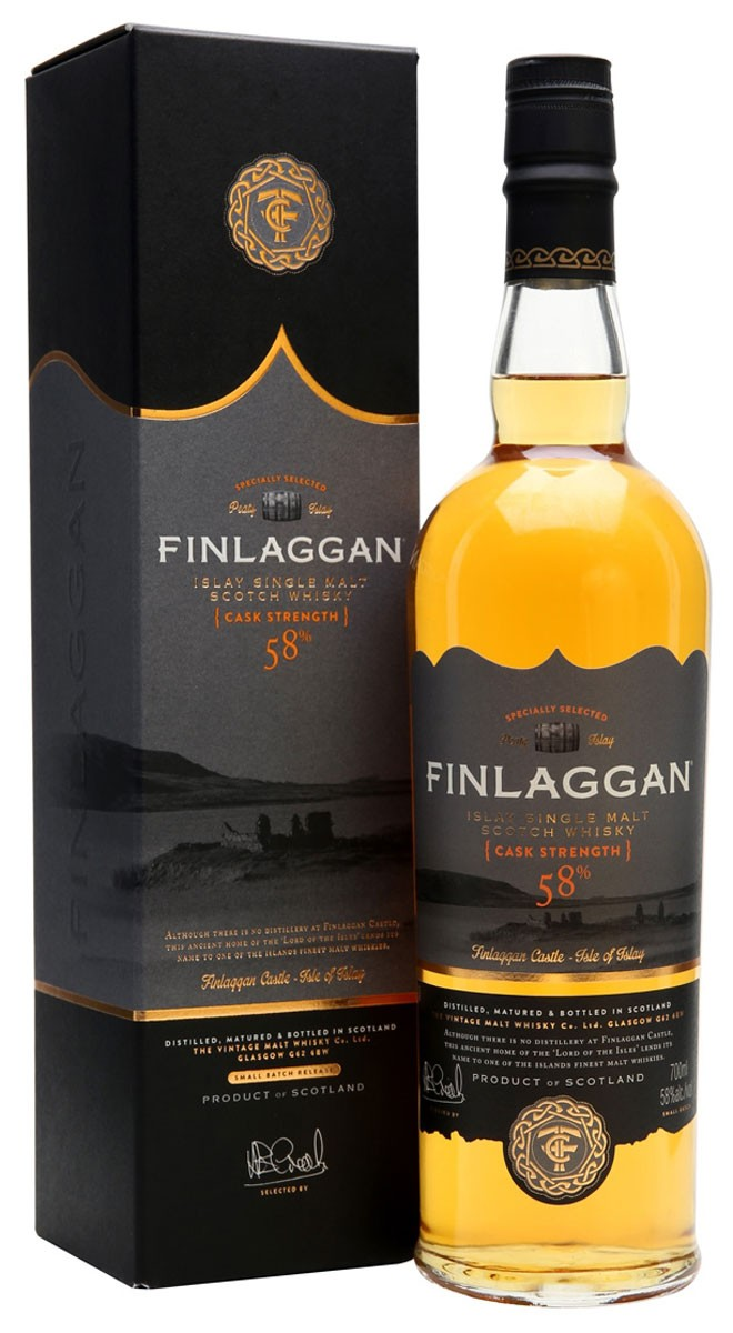 Vintage Malt Whisky Finlaggan Cask Strength (в коробке) фото
