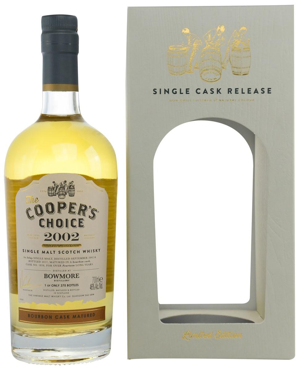 Vintage Malt Whisky Cooper's Choice Bowmore 2002 (в коробке) фото