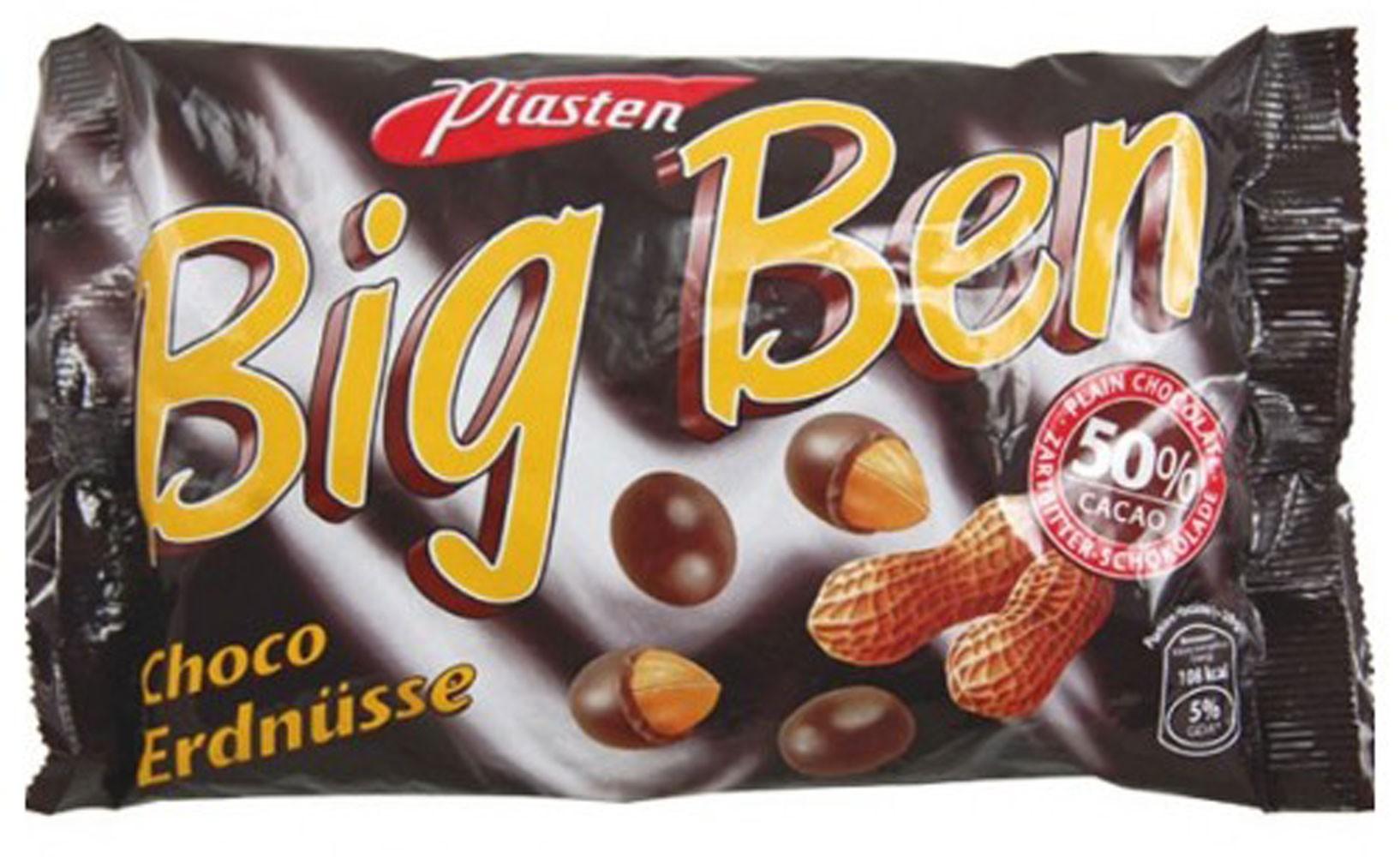 Драже арахис в черном шоколаде BIG BEN фото