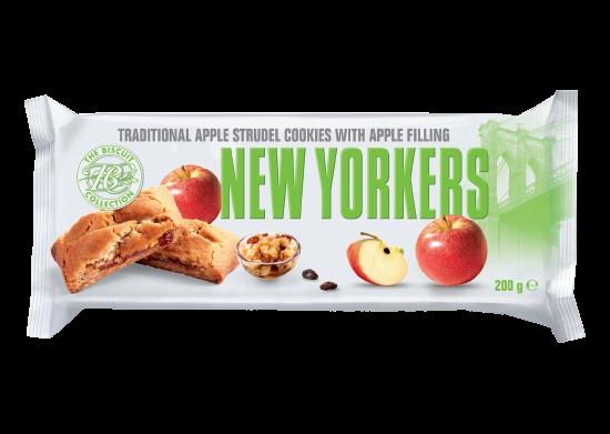 Печенье NEW YORKERS с яблоком фото