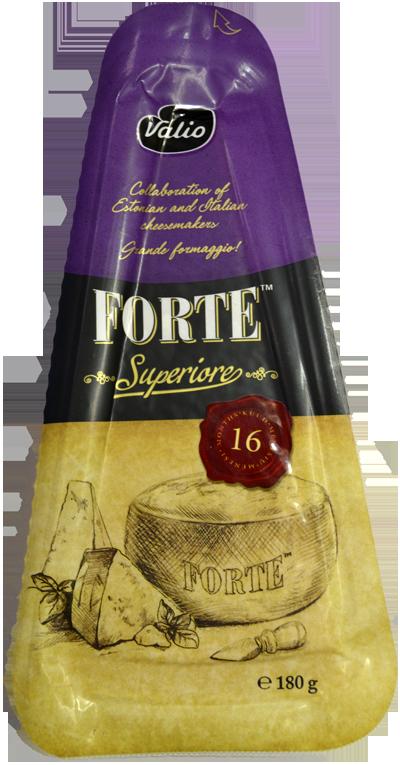 Сир Valio Forte Superiore 16 міс. фото