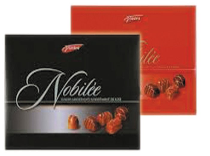 Конфеты шоколадные ассорти Nobilee Red/Black фото