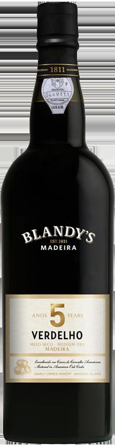 Мадера Blandy's Verdelho Medium Dry 5 Y.O фото