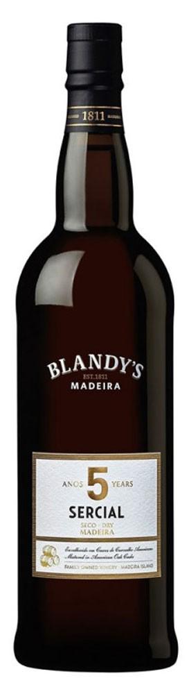 Мадера Blandy's Sercial Dry 5 Y.O фото