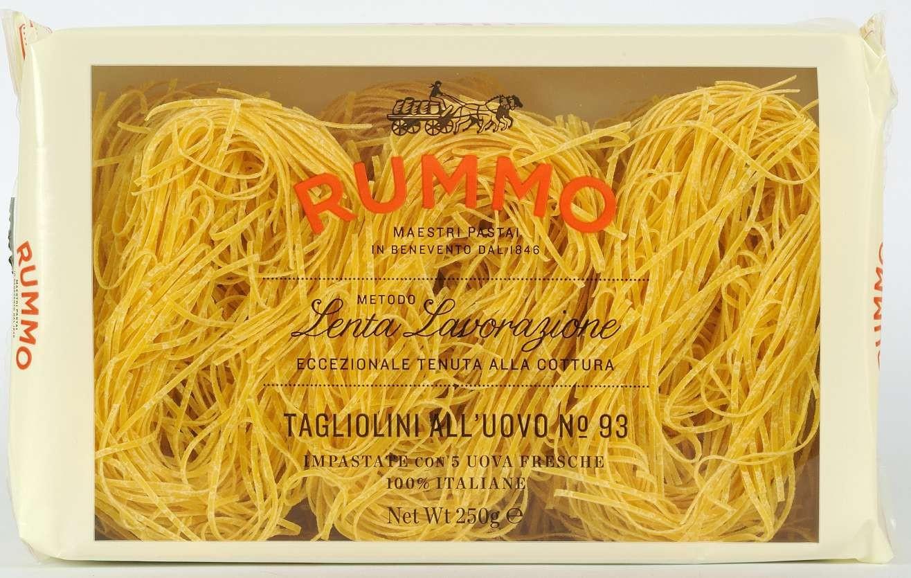 Паста Яичная Tagliolini All'uovo N°93 Rummo фото