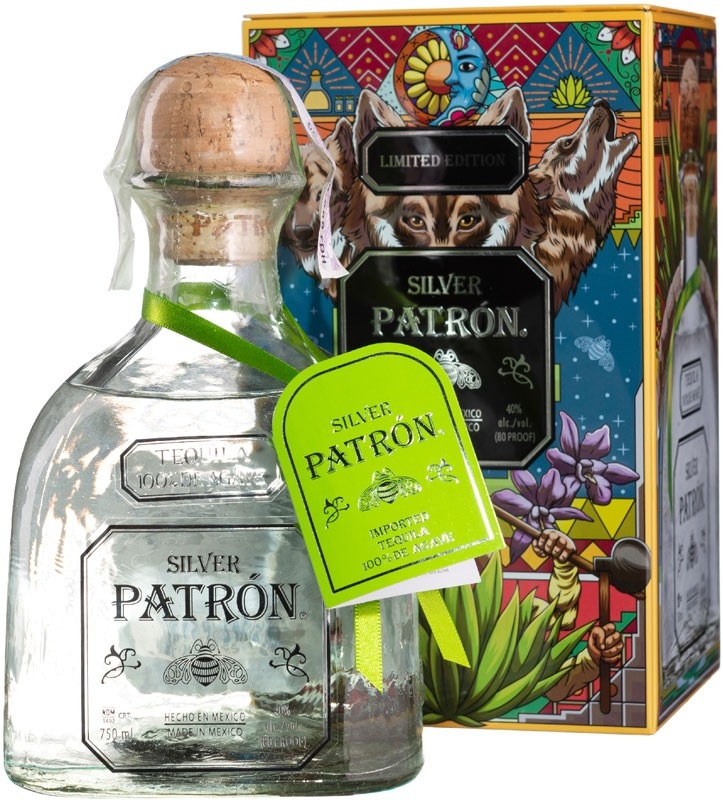 Patron Silver limited edition (в коробке) фото