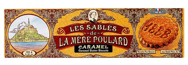 Печенье песочное с карамелью La Mere Poulard фото